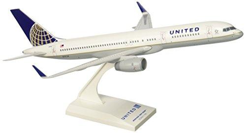 Skymarks SKR598 United Boeing 757-200 Post Merger 1:150 Snap-Fit Model