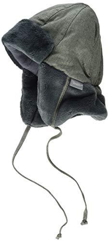 Sterntaler Fliegermütze Sombrero de Bombardero, Verde Oscuro, 51 para Bebés