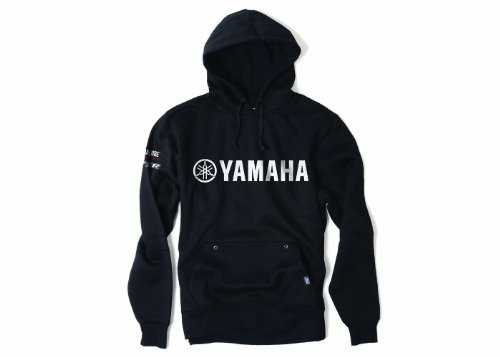 Factory Effex 16-88234 YAMAHA' Team Pullover Sweatshirt (Black