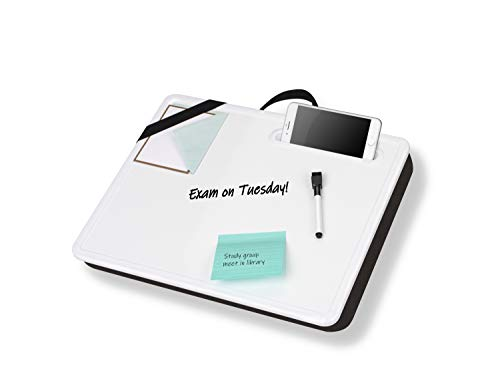 LapGear Magnetic Dry-Erase Lap Desk, Whiteboard with Marker Included - Style No. 52104