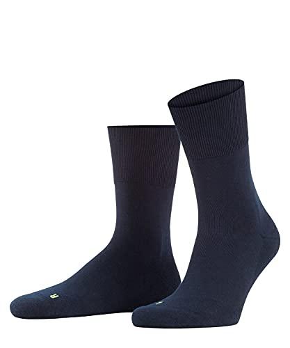 FALKE Unisex Socken Run, Baumwolle, 1 Paar, Blau (Marine 6120), 44-45 (UK 9.5-10.5 Ι US 10.5-11.5)
