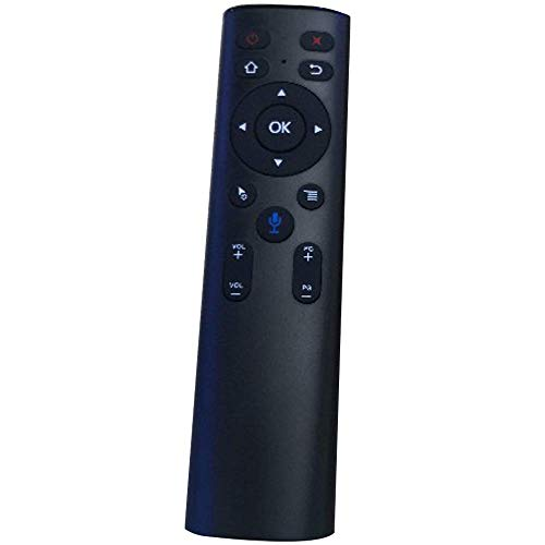 A6 2.4G Air Mouse Voice Control remoto inteligente con micrófono Búsqueda de aprendizaje por infrarrojos para Android TV Box