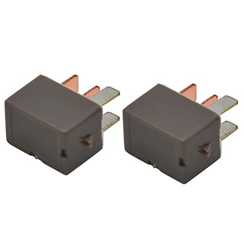Andifany 2Pcs 90987-02028 A/C Clutch Relay 4-Pin 12V Fit for