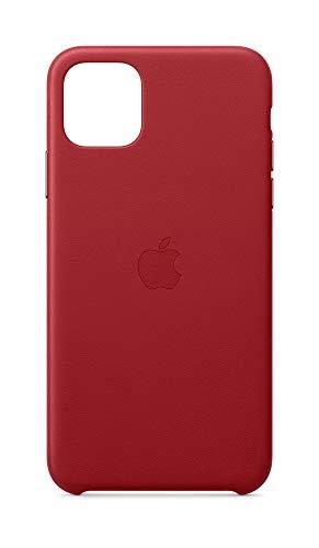 Apple Custodia in pelle (per iPhone 11 Pro Max) - Rosso