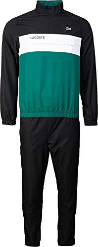 Lacoste Sport WH9540 conjunto de chándal hom, Noir/Bouteille-Blanc, 4XL para Hombre