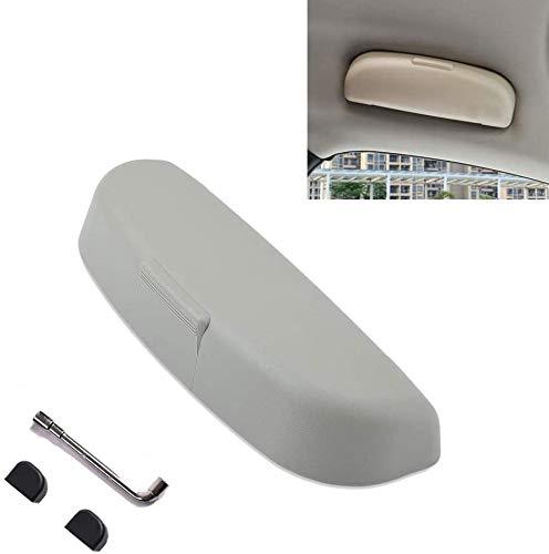 LFOTPP XC40 XC60 XC90 Estuches de Gafas para Coche, Funda de Gafas Interior Accesorios (Gris)