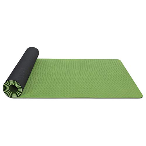 LDH Esterilla Yoga De Ejercicios Antideslizantes Eco Friendly NBR 10mm De Grosor A Prueba De Agua Y Fáciles De Limpiar Hombres Y Mujeres Esterilla Deporte 183 * 61cm / 185 * 80cm