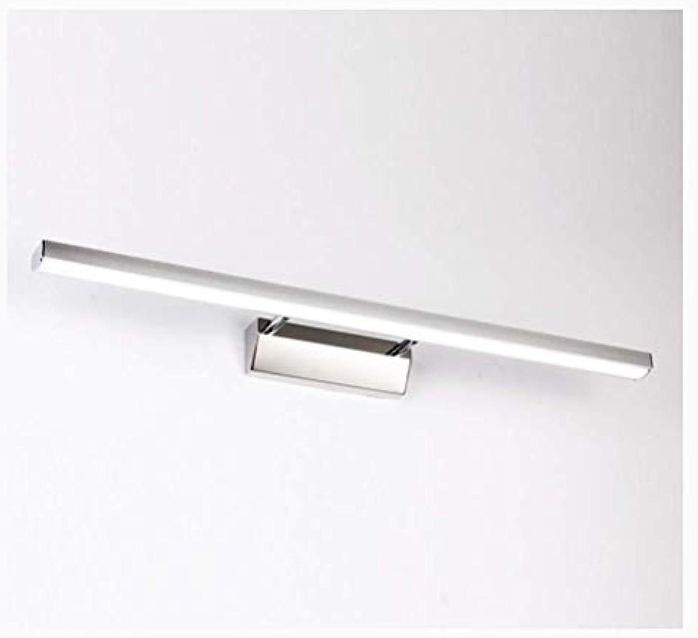 Haililais Spiegellampen LED-Spiegel Scheinwerfer, modernes Badezimmer Badezimmer FeuchtigkeitsBestendige Lampen Einfache Rocker Mirror Cabinet Light (Farbe   Warmes Licht-40cm)
