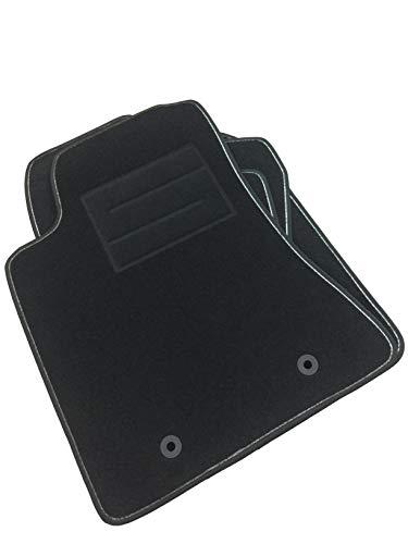 ASC - Alfombrillas para Corolla E120 2000 / 2006 con botones y talonera