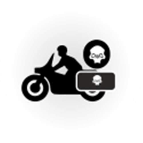 HARLEY-DAVIDSON Motorrad Deemeed Gepäckrolle 43 Liter Tasche MA25CTUBE_L