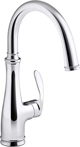 KOHLER K-29107-CP Bellera Bar Sink Faucet, Polished Chrome
