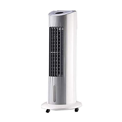 DSY Ventilador Oscilante Permanente con Control Remoto, Temporizador de Ventiladores Ultra-Silencioso Enfriamiento de la Torre de Baja Energía Fan de Pedestal para la Oficina en Cas