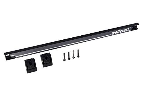 Wolfcraft 6806000 Barra portaherramientas magnética, 460 mm, Set de 7 Piezas