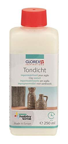 Glorex 6 8079 60 - Tondicht 250 ml, 1-Komponenten Versiegelung, verschließt die Poren und verhindert ein Durchdringen von Wasser