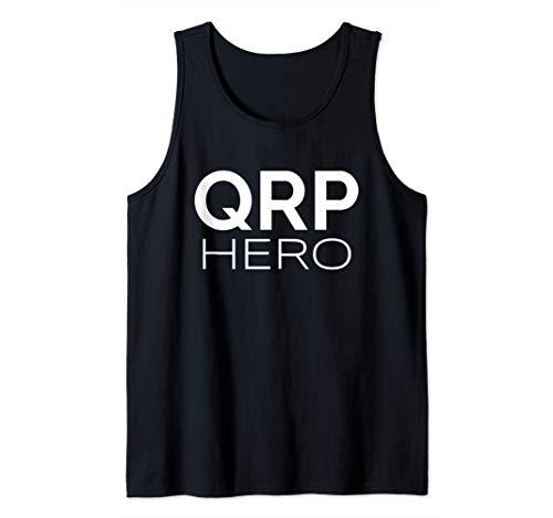 QRP Hero HAM Radio de baja potencia Q-code Mobile Base QRP Camiseta sin Mangas
