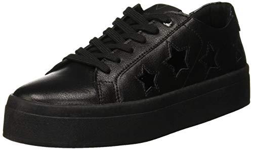 Guess Fhalstar, Sneaker Donna, Nero (Black Black), 40 EU