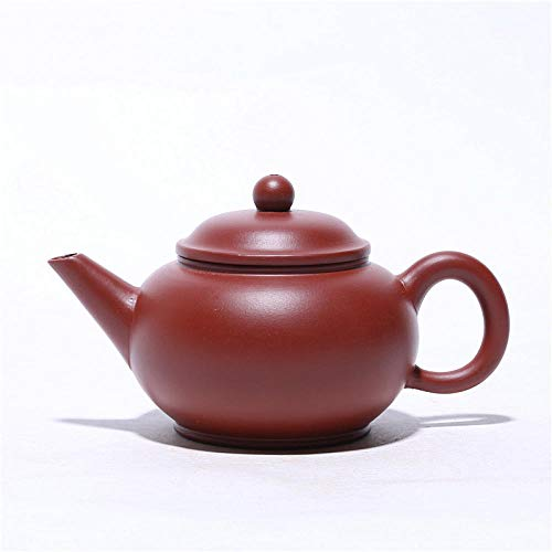 Chinesische Yixing Zisha Teekannen Lila Ton Teekanne Dahongpao handgemachte horizontale Kanne machen Teekanne Reise Teeservice