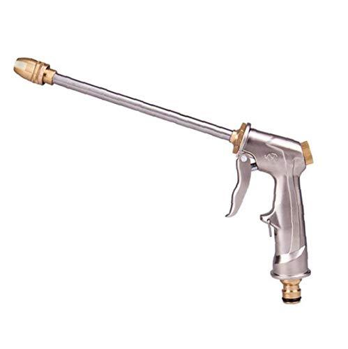 Función jardín Boquilla del Manguito de Varias largas de Metal Spray Función Multi Pistola Pistola de pulverización portátil de 360 ??Grados rotaing Alta presión alimenta el pulverizador de Coches
