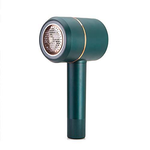 JenLn Trimmer de Pelota de Cabello Ropa Recargable Afeitadora Suéter Secador de Pelo Secador de Pelo Retiro Artefacto Verde Afeitadora de Tela para Ropa (Color : Green, Size : 21x10x8cm)