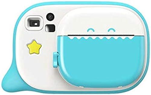Kinder Digitalkamera Spielzeug kann Fotos Video Baby Fotografie Mini HD Kinder Urlaub Geburtstagsgeschenk nehmen (Farbe   Blau, Größe   85  126  41mm)