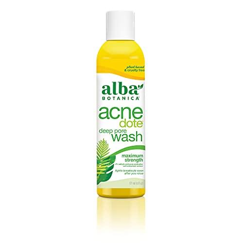 ALBA BOTANICA - Natural ACNEdote Deep Pore Wash - 6 fl. oz....