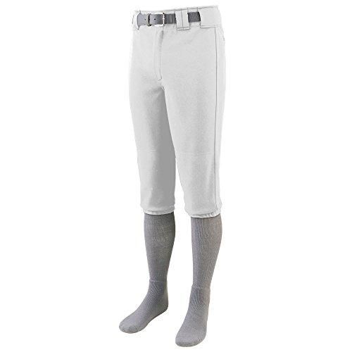 Augusta Herren Sportswear Serie, Baseball-Hose, knielang Gr. Medium, weiß