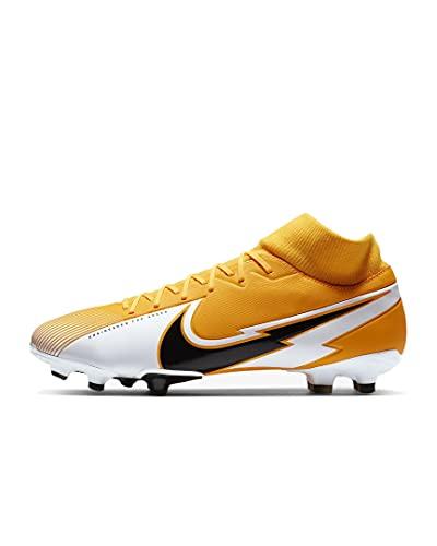 Nike Scarpe da calcio da uomo Superfly 7 Academy Fg/Mg, Arancione (Laser Orange Black White Laser Arancione), 42.5 EU