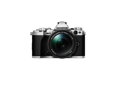 Olympus OM-D E-M5 Mark II Kit, Micro Four Thirds Systemkamera (16.1 Megapixel, 5-Achsen Bildstabilisator, elektronischer Sucher) + M.Zuiko Digital ED 14-150mm F4-5.6 Zoomobjektiv, silber