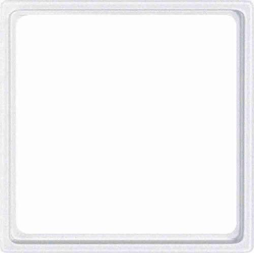 Merten 518119 Zwischenring für Kombieinsätze nach DIN 49075, polarweiß, System M, Weiß