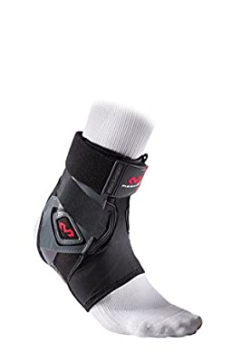 McDavid Bio-Logix Ankle Brace, Black, Medium/Large, Right