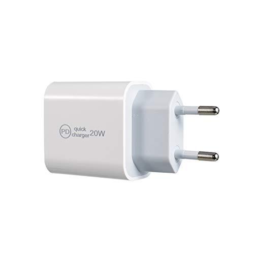 Chutoral Handy-Ladegerät, 20 W, USB-C-Netzadapter, geeignet für iPhone 12 / iPhone 12 Pro und iPad Apple (01)