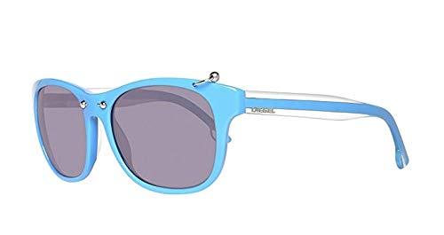 Diesel Gafas de sol DL Design Unisex No Polarizado Marco Azul Lente Negro