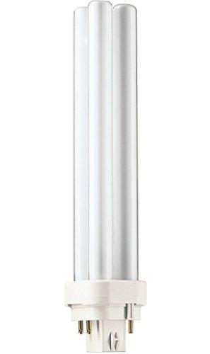 Philips Master PL-C 4 Pin Bombilla G24q-3 4, 26 W, 2700K Blanco cálido, 1 Pieza