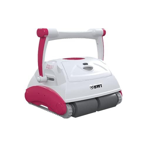 BWT Pool-Roboter D200 | Optimale Reinigung für Boden, Wand & Wasserlinie | Beste Filterleistung & Zügige Reinigung | Einfach zu reinigender Pool-Sauger