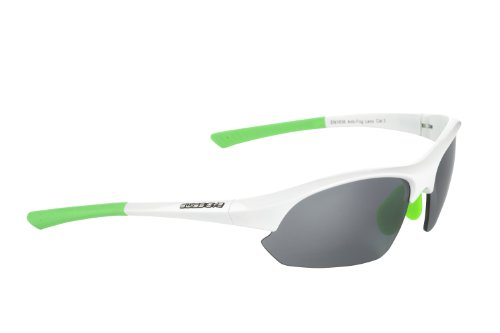 Swiss Eye Slide - Gafas de deporte, talla única, color blanco/azul