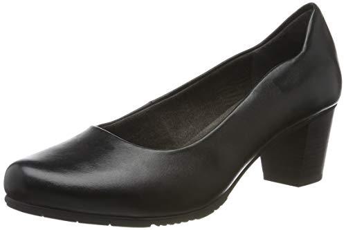Jana 100% comfort Damen 8-8-22404-23 Pumps, Schwarz (Black 001), 37.5 EU