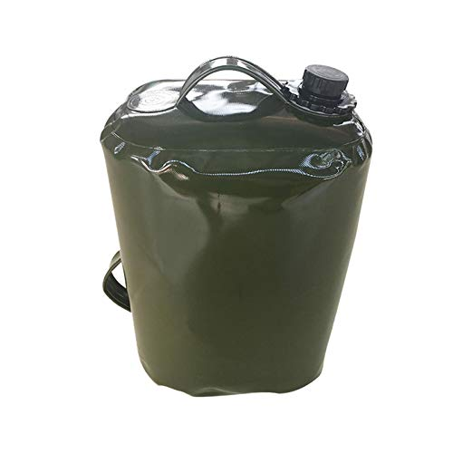 Zhihui Bidón de agua plegable con grifo – 3/5/10/15/20/30L Camping Agua Contenedor plegable – Bolsa de agua portátil para picnic al aire libre camping emergencias senderismo viajes de larga distancia