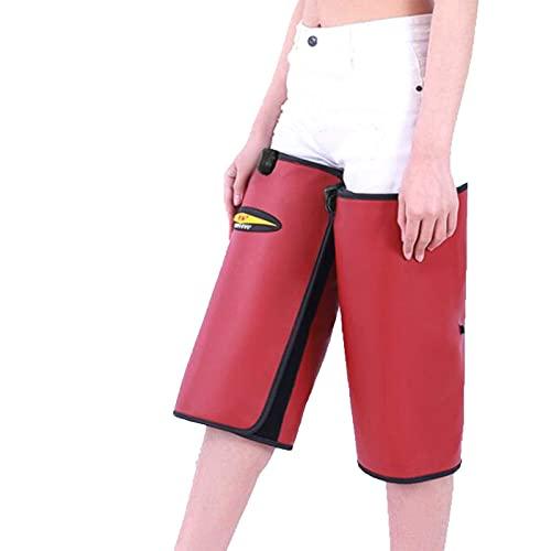 FACAZ Masajeador de piernas con compresión de Aire con Calor, máquina de Masaje de piernas, con Controlador de Mano Que Mejora la circulación sanguínea - Alivio del Dolor Muscular