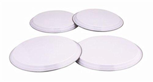 Zodiac 4-teilige Herdabdeckplatten - Weiß
