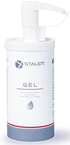 STAUDT Gel Spender 500 ml: angenehme Salbe aus Grünlippmuschelextrakt und pflanzlichen Wirkstoffen (SomniShop Set L 200)