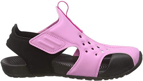 Nike Jungen Sunray Protect 2 (ps) Dusch- & Badeschuhe, Mehrfarbig (Psychic Pink/Laser Fuchsia/Black 602), 28 EU