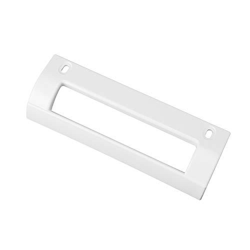 MIRTUX Tirador Puerta Frigorífico Balay, Bosch, Crolls, LG y Lynx. Medidas: 19,7 cms X 7,5 cms. Color Blanco. Código del recambio: 93613