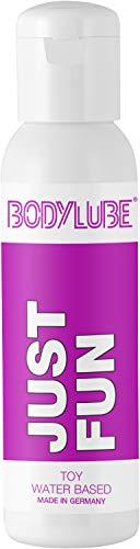 BODYLUBE® JUST FUN | Gleitgel auf Wasserbasis speziell für Toys | Premiumqualität (250 ml)