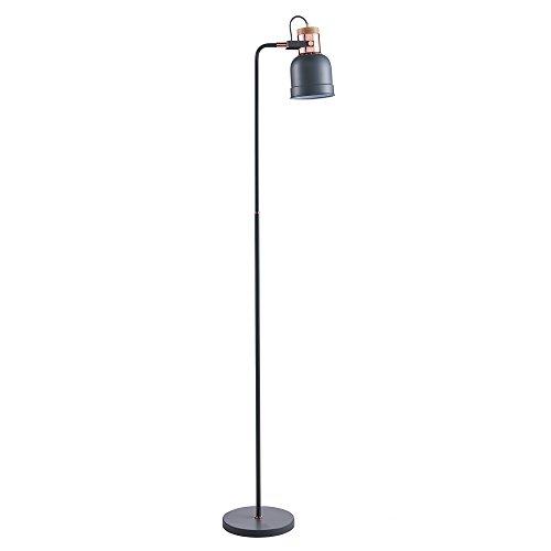 Versanora lámpara de Piso, Gris/Dorado