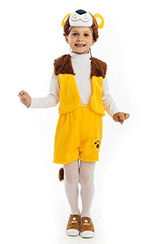 5 O'Reet Plush Lion Costume for Boys & Girls – Extra Small