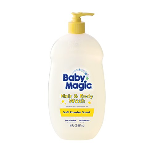 Baby Magic Soft Baby Scent, Hair and Body Wash, 30 Fluid Ounce