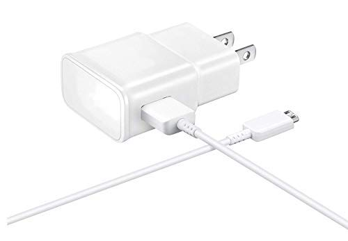 Fast 15W Wall Charger Works for Samsung Galaxy Fame Lite Duos with MicroUSB 2.0 Cable with True 2.1Amp Charging!