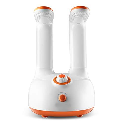 Wlehome Silenciador eléctrico de Arranque secador de Secado Zapatos desodorizante desinfección Zapatos secador aparatos, Naranja (con convertidor de energía)