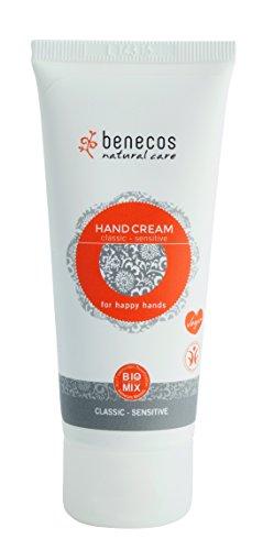 Benecos Handcreme Classic-Sensitiv, 3er Pack (3 x 75 ml)