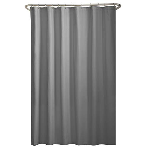 MAYTEX Water Repellent Fabric Shower Curtain or Liner, 70' x...